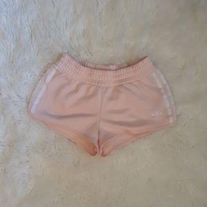 Adidas baby pink shorts